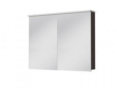 Зеркальный шкафчик JUVENTA Мonza MnMC-100 венге