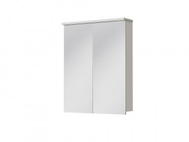 Зеркальный шкафчик JUVENTA Мonza MnMC-60 белый