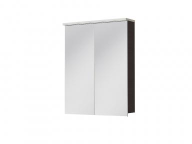 Зеркальный шкафчик JUVENTA Мonza MnMC-60 венге