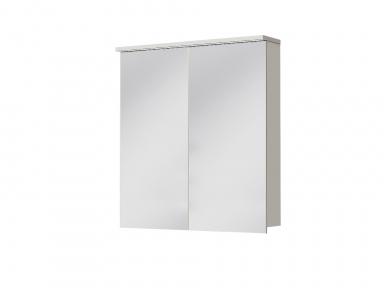 Зеркальный шкафчик JUVENTA Мonza MnMC-70 белый