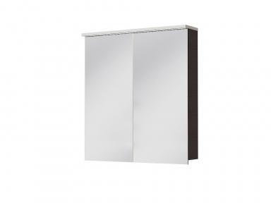 Зеркальный шкафчик JUVENTA Мonza MnMC-70 венге