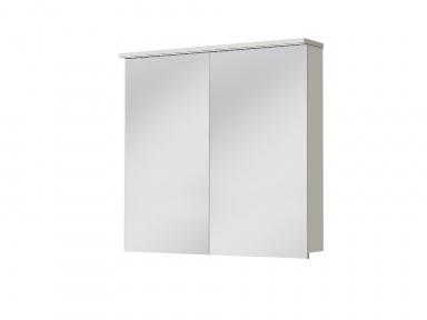 Зеркальный шкафчик JUVENTA Мonza MnMC-80 белый
