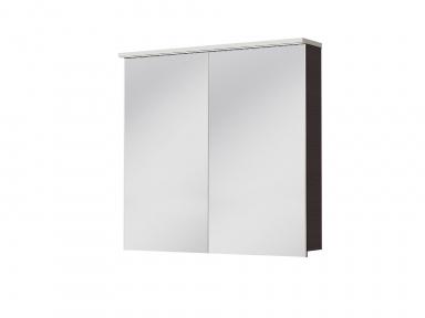 Зеркальный шкафчик JUVENTA Мonza MnMC-80 венге