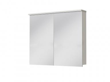 Зеркальный шкафчик JUVENTA Мonza MnMC-90 белый