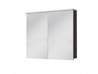 Зеркальный шкафчик JUVENTA Мonza MnMC-90 венге
