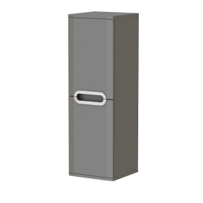 Пенал JUVENTA Prato - РrP-100 серый (универсальный)