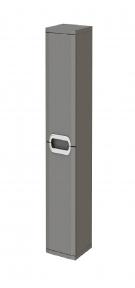 Пенал JUVENTA Prato - РrP-170 серый (универсальный)