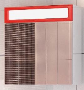 Зерк-шкаф Леос Лондон 70 червона