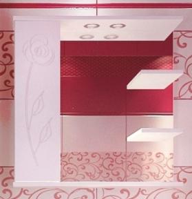 Дзеркало  Леос Z-2  Класик 70 Роза біла (L)