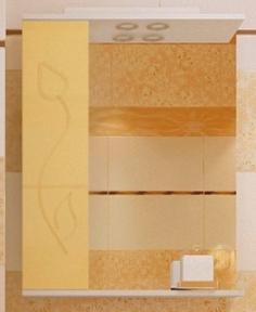 Зеркало Леос з1-60 Тюльпан L беж