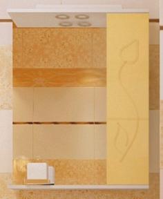 Зеркало Леос з1-60 Тюльпан R беж