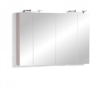 Зеркальный шкафчик  Twist TwM-1200 белый
